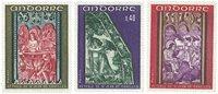 Andorre francais YT 206-08