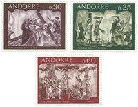 Andorre francais - YT 191-93 - Neuf