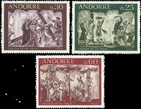 Fransk Andorra -  YT 191-93