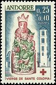 Andorre francais YT 172 Andorre francais 1964, Croix Rouge