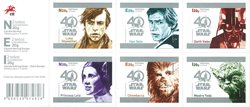 Portugal - Star Wars - Carnet neuf