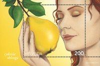 Schweiz - Kvæde - Postfrisk miniark