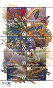 St.Eustatius onderwaterwereld - St.Eustatius Postfrisse serie van 10
