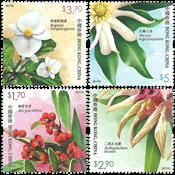 Hong Kong - Rare Plants - Mint set 4v