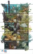 Bonaire - Undervandsverden - Postfrisk ark