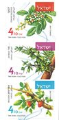 Israel - Velduftende planteolier - Postfrisk sæt fra hæfte