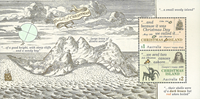 Christmas Islands - Explorers - Mint souvenir sheet