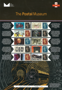 Great Britain - Postal Museum - Mint sheetlet