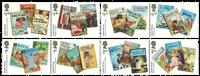 England - Ladybird børnebøger - Postfrisk sæt 8v