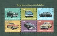 Ungarn - Veteranbiler - Postfrisk miniark