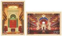 Hongrie - Synagogues - Série neuve 2v