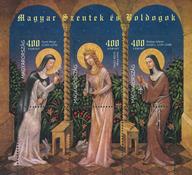 Ungarn - 3 Helgener - Postfrisk miniark