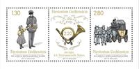 Liechtenstein - Bicentenaire du Bureau de Poste Balzer - Bloc-feuillet neuf