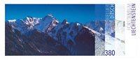 Liechtenstein - Helmut Ditsch - tableau - Timbre neuf