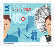 Suisse - Unspunnen - Timbre neuf