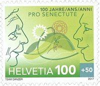 Schweiz - Pro Senectute - Postfrisk frimærke