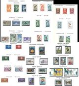 Europamærker og medløbere - Samling