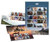 Great Britain - Star Wars complete offer - Save 20% - Save 20%: Souv. pack, FDC, sheetlet