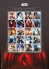 England - Star Wars - Postfrisk sammentrykt ark