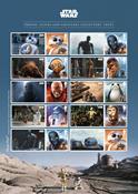 Grande-Bretagne - Star Wars, La Guerre des Etoiles - Feuillet neuf adh.