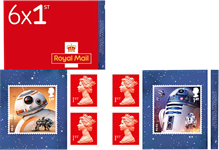 Great Britain - Star Wars Droids - Mint booklet