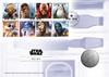 Gran Bretagna 2017 - Star Wars / Medal Cover R2-D2 - busta filatelico-numismatica