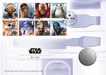 England - Star Wars R2-D2 - Flot medaljebrev