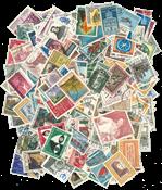 200 francobolli differenti Italia