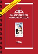 AFA Skandinavien frimærkekatalog 2018 med spiralryg