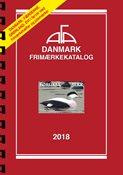 AFA Danmark frimærkekatalog 2018 med spiralryg