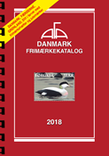AFA Denmark 2018 stamp catalogue with spiral back binding