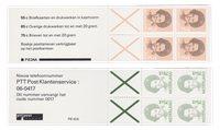 Pays-Bas 1986-1991 - NVPH PZB 34a + 42a - neuf