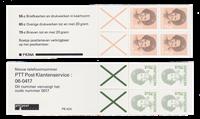 Holland 1986-1991 - NVPH PZB 34a + 42a - Postfrisk