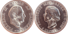 Prinsesse Margrethes 18 års fødselsdag - 1958 - 2 kr. - Sølv