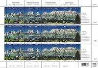 Suisse - Panorama Churfirsten - Feuillet neuf