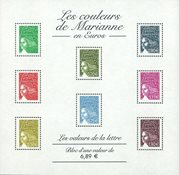 Frankrig - YT nr. 67 - Postfrisk miniark