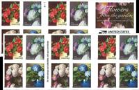 Etats-Unis - Fleurs du jardin - Carnet neuf