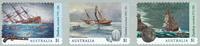 Australien - Skibsvrag - Postfrisk selvklæbende sæt