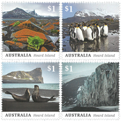 Australien - Heard Island - Postfrisk sæt 4v