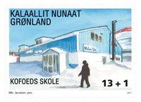 Groenland - Ecole de Kofoed - Timbre neuf de bienfaisance