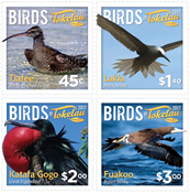 Tokelau - Birds of Tokelau - Mint set 4v