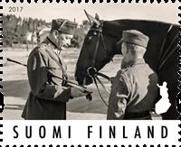 Finland - Mannerheim - Postfrisk frimærke