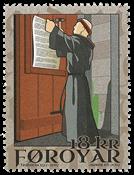 Færøerne - Reformationen - Postfrisk frimærke