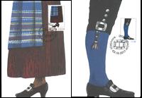 Faroe Islands - Folk costumes - Set of maximum cards