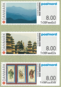 Denmark - Exhibition in China 2016 - Mint set exhibition stamps 3v