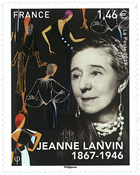 France - Jeanne Lanvin - Mint stamp