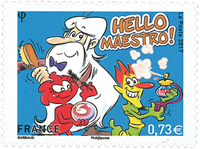 France - Hello Maestro - Mint stamp