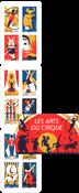 Frankrig - Cirkus - Postfrisk frimærkehæfte