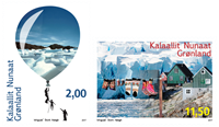 Greenland - The environment in Greenland - Mint set 2v