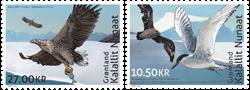 Groenland - Emission commune avec les TAAF - Série neuve 2v